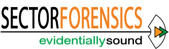 Sector Forensics evidentially sound logo